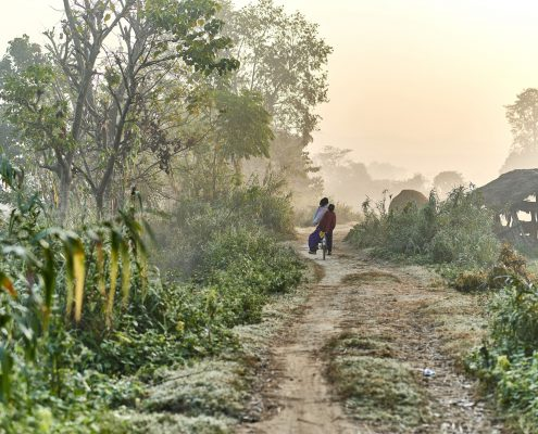 Bardia Nationalpark Sonnenaufgang